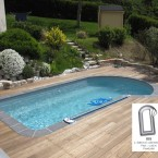 Piscine coque ios